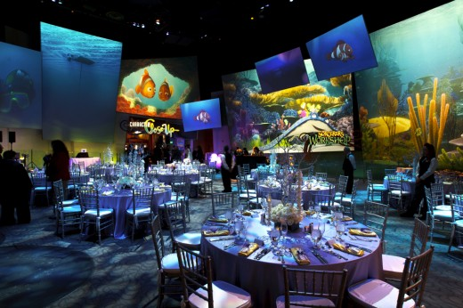 Art of Animation wedding reception